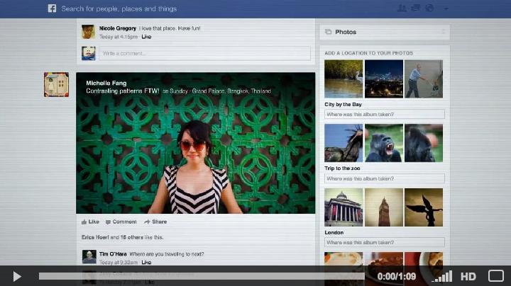 les nouveautés Facebook en 2013 qu'est ce que cela change pour vous ?