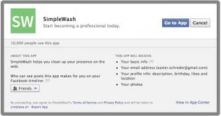 Simplewash analyse votre e-reputation et nettoie votre profil pour les entretiens d'embauche