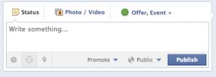 Promouvoir les publications sur Facebook