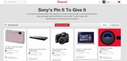 Pinterest et Sony des re-pins pour des oeuvres de charité