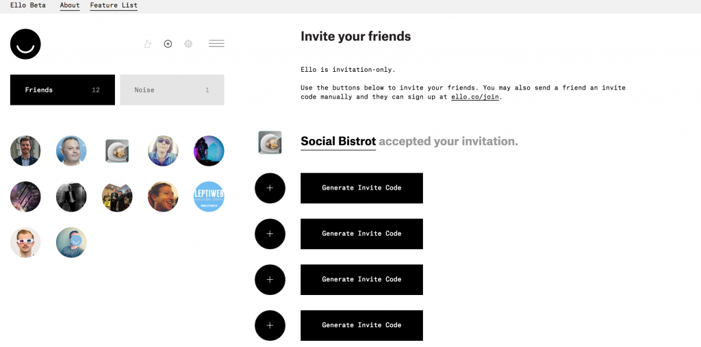ello invitation