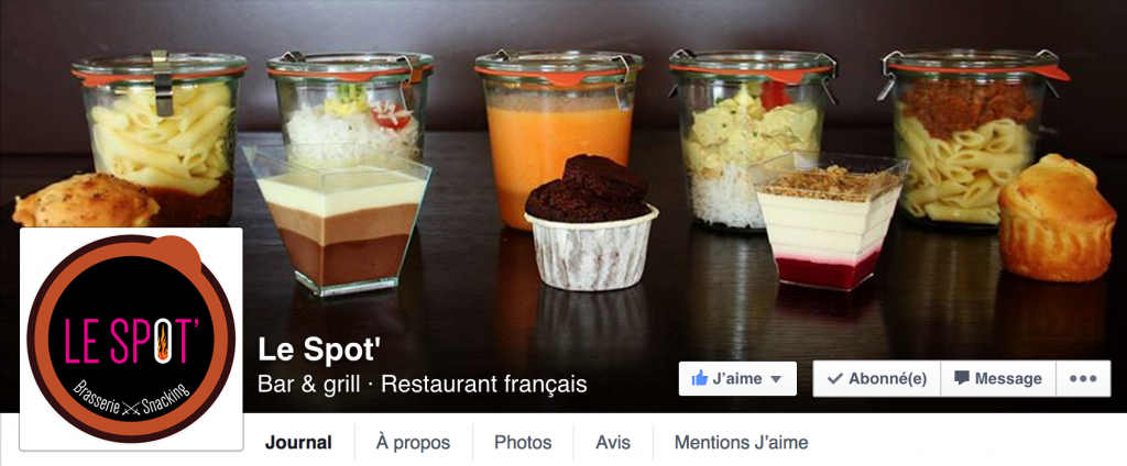 Le spot facebook