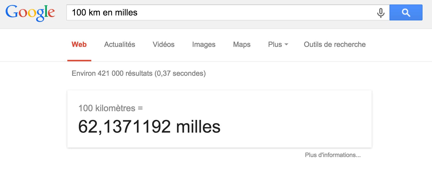 convertisseur google