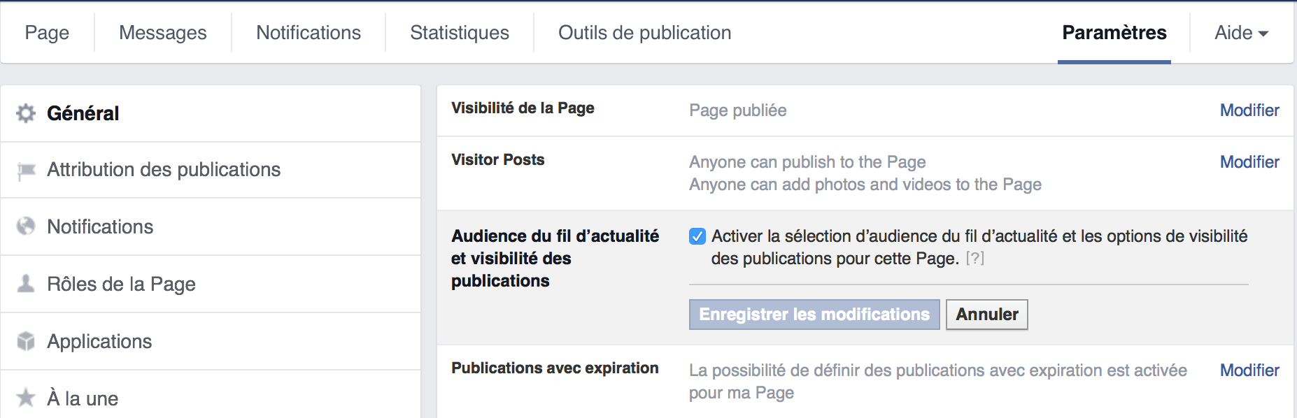 facebook multilingue