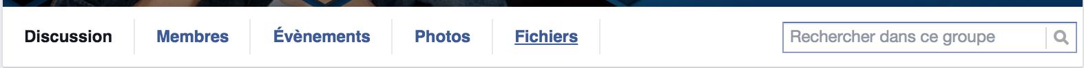 groupe facebook recherche
