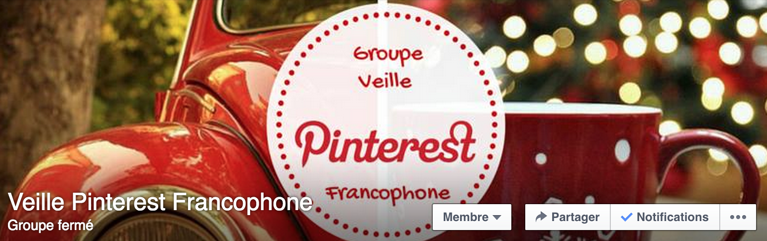 groupe pinterest