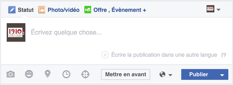 post multilangue facebook