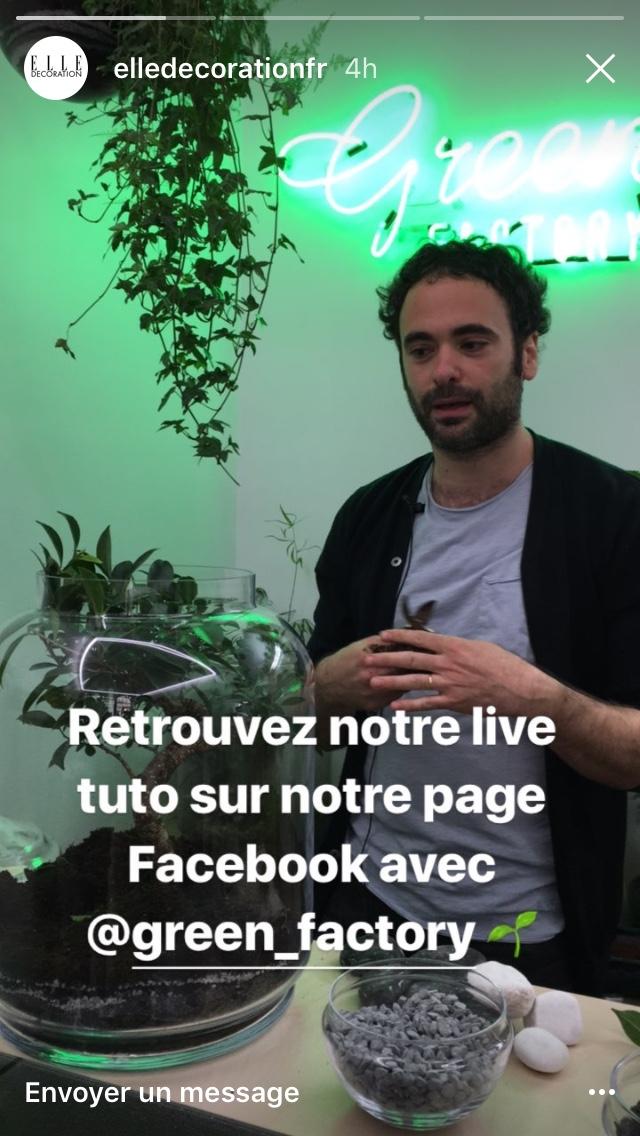 storis instagram social bistrot