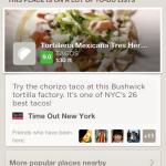 Foursquare part à la conquête du marché de Yelp