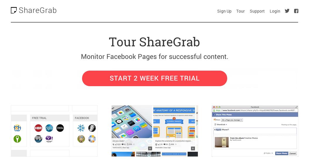 Le contenu sur les réseaux sociaux par ShareGrab