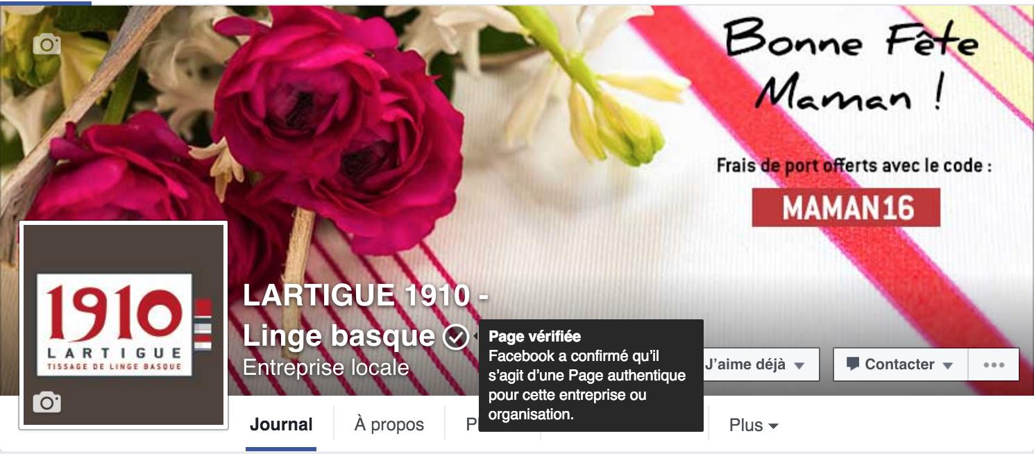 faites vérifier votre page facebook en quelques étapes